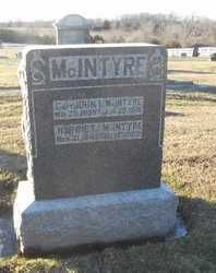 WIDEMAN MCINTYRE, HARRIET - Pike County, Missouri | HARRIET WIDEMAN MCINTYRE - Missouri Gravestone Photos