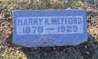 MEFFORD, HARRY KING - Pike County, Missouri | HARRY KING MEFFORD - Missouri Gravestone Photos