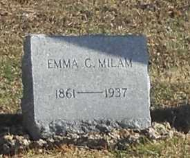 FOWLER MILAM, EMMA CATHERINE - Pike County, Missouri | EMMA CATHERINE FOWLER MILAM - Missouri Gravestone Photos