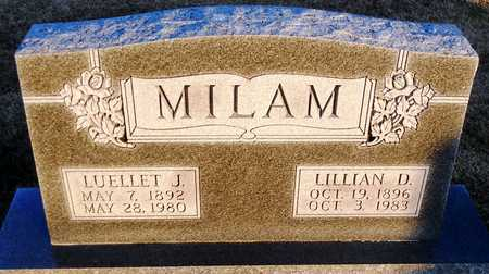 MILAM, LILLIAN D - Pike County, Missouri | LILLIAN D MILAM - Missouri Gravestone Photos