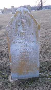 TROUT MIX, AROUGH - Pike County, Missouri | AROUGH TROUT MIX - Missouri Gravestone Photos