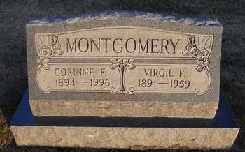 LUCAS MONTGOMERY, CORINNE F - Pike County, Missouri   CORINNE F LUCAS MONTGOMERY - Missouri Gravestone Photos