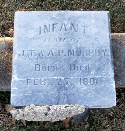 MURPHY, INFANT DAUGHTER - Pike County, Missouri | INFANT DAUGHTER MURPHY - Missouri Gravestone Photos
