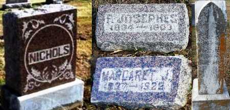"NICHOLS, FLAVIUS JOSEPHUS ""JOSEPH"" - Pike County, Missouri   FLAVIUS JOSEPHUS ""JOSEPH"" NICHOLS - Missouri Gravestone Photos"