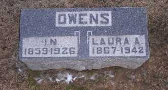 OWENS, LAURA A - Pike County, Missouri   LAURA A OWENS - Missouri Gravestone Photos