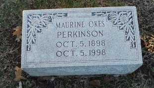 PERKINSON, MAURINE - Pike County, Missouri | MAURINE PERKINSON - Missouri Gravestone Photos