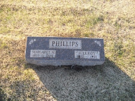PHILLIPS, MARGARET A - Pike County, Missouri | MARGARET A PHILLIPS - Missouri Gravestone Photos