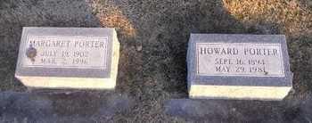 PORTER, MARGARET - Pike County, Missouri   MARGARET PORTER - Missouri Gravestone Photos
