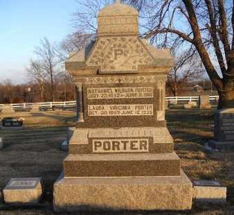 "PORTER, NATHANIEL WILBURN ""BUNK"" - Pike County, Missouri | NATHANIEL WILBURN ""BUNK"" PORTER - Missouri Gravestone Photos"