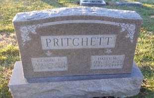 PRITCHETT, CLAUDE PEW - Pike County, Missouri | CLAUDE PEW PRITCHETT - Missouri Gravestone Photos