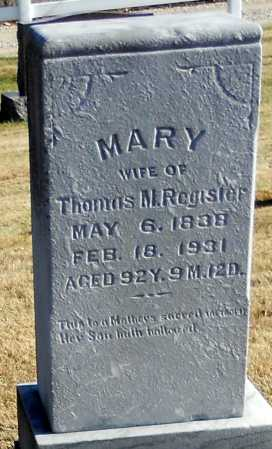 SPEGAL REGISTER, MARY - Pike County, Missouri | MARY SPEGAL REGISTER - Missouri Gravestone Photos