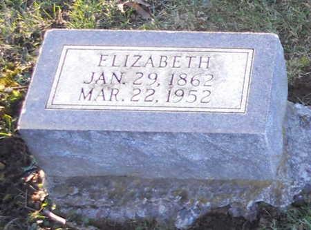 RICHARDSON, ELIZABETH - Pike County, Missouri   ELIZABETH RICHARDSON - Missouri Gravestone Photos