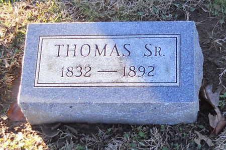 RICHARDSON, THOMAS SR - Pike County, Missouri | THOMAS SR RICHARDSON - Missouri Gravestone Photos