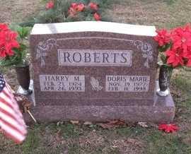 ROBERTS, DORIS MARIE - Pike County, Missouri | DORIS MARIE ROBERTS - Missouri Gravestone Photos
