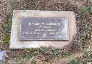 ROBERTS, HARRY M VETERAN WWI - Pike County, Missouri   HARRY M VETERAN WWI ROBERTS - Missouri Gravestone Photos