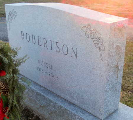 ROBERTSON, RUSSELL - Pike County, Missouri   RUSSELL ROBERTSON - Missouri Gravestone Photos