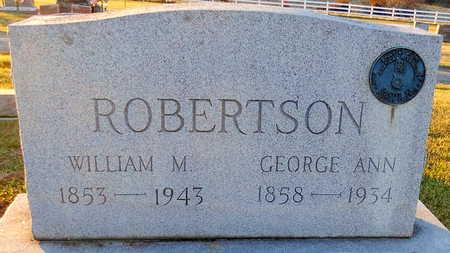 ROBERTSON, GEORGE ANN - Pike County, Missouri | GEORGE ANN ROBERTSON - Missouri Gravestone Photos