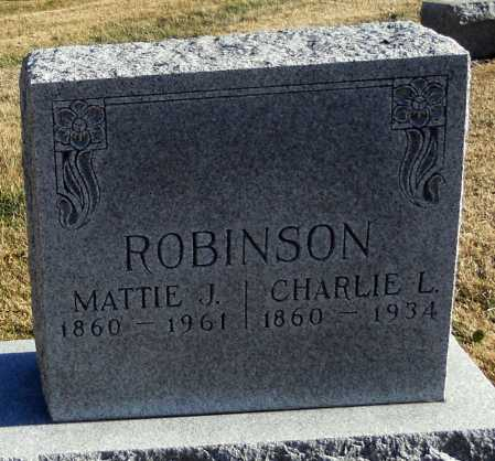 "DONOVAN ROBINSON, MARTHA JANE ""MATTIE"" - Pike County, Missouri | MARTHA JANE ""MATTIE"" DONOVAN ROBINSON - Missouri Gravestone Photos"