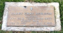 ROBISON, HARRY GRAY (VETERAN WWI) - Pike County, Missouri   HARRY GRAY (VETERAN WWI) ROBISON - Missouri Gravestone Photos