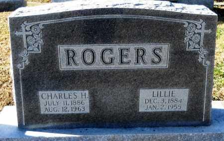 LEDFORD ROGERS, LILLIE - Pike County, Missouri | LILLIE LEDFORD ROGERS - Missouri Gravestone Photos