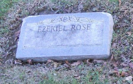 ROSE, EZEKIEL - Pike County, Missouri | EZEKIEL ROSE - Missouri Gravestone Photos
