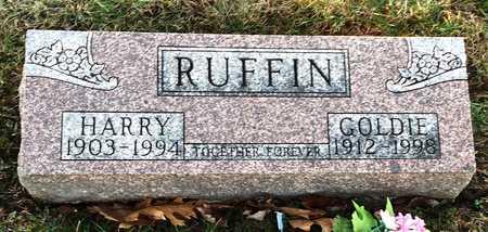 RUFFIN, HARRY - Pike County, Missouri   HARRY RUFFIN - Missouri Gravestone Photos