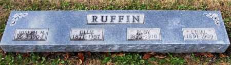 RUFFIN, ETHEL - Pike County, Missouri | ETHEL RUFFIN - Missouri Gravestone Photos