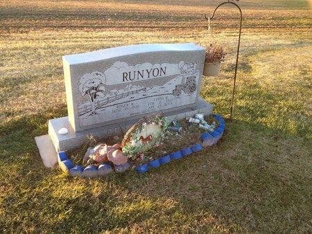 RUNYON, LINDA B - Pike County, Missouri   LINDA B RUNYON - Missouri Gravestone Photos