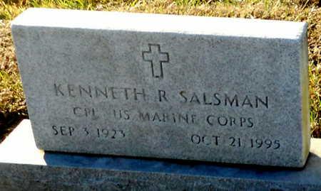 SALSMAN, KENNETH R VETERAN - Pike County, Missouri | KENNETH R VETERAN SALSMAN - Missouri Gravestone Photos