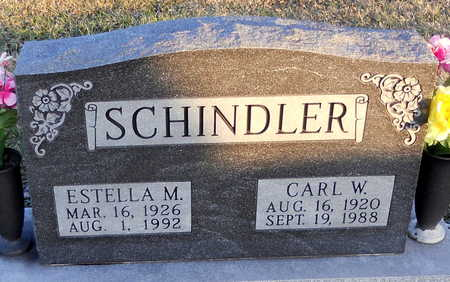 SCHINDLER, ESTELLA M - Pike County, Missouri | ESTELLA M SCHINDLER - Missouri Gravestone Photos
