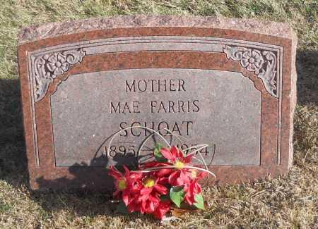 SCHOAT, MAE FARRIS - Pike County, Missouri | MAE FARRIS SCHOAT - Missouri Gravestone Photos