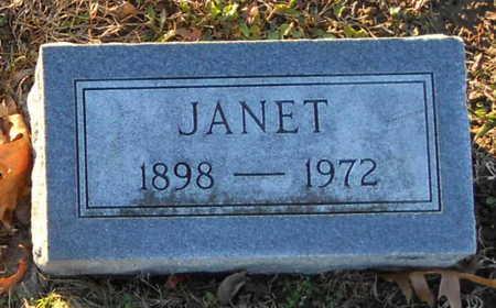 THOMPSON, JANET - Pike County, Missouri | JANET THOMPSON - Missouri Gravestone Photos