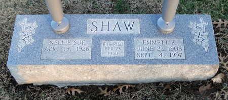 SHAW, EMMETT E - Pike County, Missouri | EMMETT E SHAW - Missouri Gravestone Photos