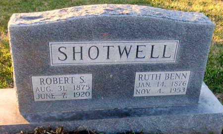 SHOTWELL, RUTH LUCINDA - Pike County, Missouri | RUTH LUCINDA SHOTWELL - Missouri Gravestone Photos