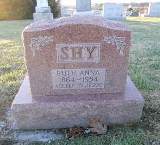 SHY, RUTH ANNA - Pike County, Missouri | RUTH ANNA SHY - Missouri Gravestone Photos