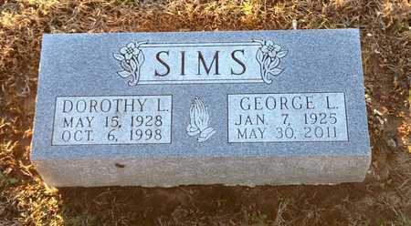 MCMILAN SIMS, DOROTHY L - Pike County, Missouri | DOROTHY L MCMILAN SIMS - Missouri Gravestone Photos