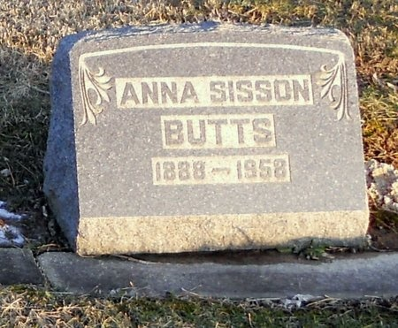 BUTTS, ANNA LAURA - Pike County, Missouri | ANNA LAURA BUTTS - Missouri Gravestone Photos