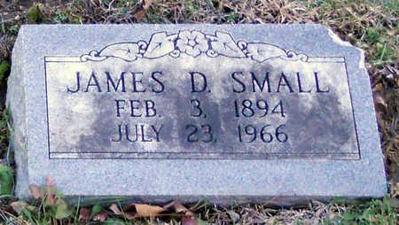 SMALL, JAMES D - Pike County, Missouri | JAMES D SMALL - Missouri Gravestone Photos
