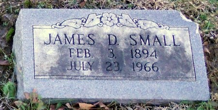 SMALL, JAMES D - Pike County, Missouri | JAMES D SMALL - Missouri Gravestone Photos