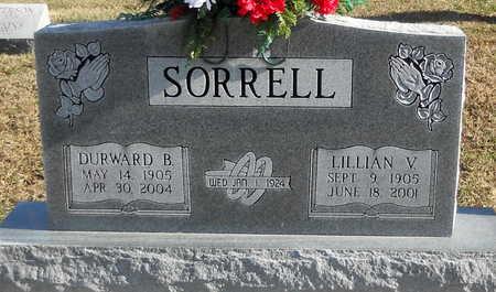 SORRELL, LILLIAN V - Pike County, Missouri | LILLIAN V SORRELL - Missouri Gravestone Photos