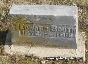 SOUTH, EDWARD - Pike County, Missouri | EDWARD SOUTH - Missouri Gravestone Photos