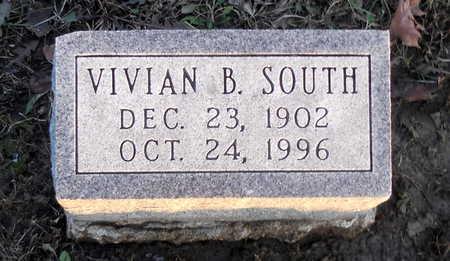 SOUTH, VIVIAN B - Pike County, Missouri | VIVIAN B SOUTH - Missouri Gravestone Photos