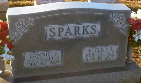 SPARKS, THELMA L - Pike County, Missouri | THELMA L SPARKS - Missouri Gravestone Photos
