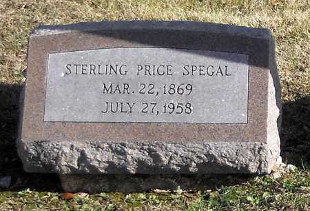 SPEGAL, STERLING PRICE - Pike County, Missouri | STERLING PRICE SPEGAL - Missouri Gravestone Photos