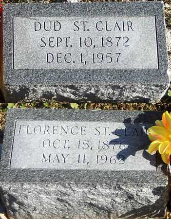 """ST. CLAIR, AMBROSE DUDLEY """"DUD"""" - Pike County, Missouri 
