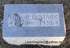 STARK, MINOR D - Pike County, Missouri   MINOR D STARK - Missouri Gravestone Photos
