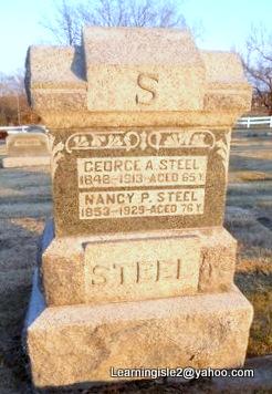 STEEL, NANCY P - Pike County, Missouri   NANCY P STEEL - Missouri Gravestone Photos