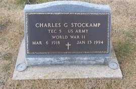 STOCKCAMP, CHARLES G VETERAN - Pike County, Missouri | CHARLES G VETERAN STOCKCAMP - Missouri Gravestone Photos
