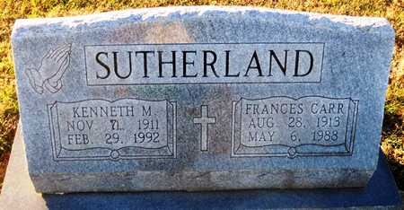 SUTHERLAND, KENNETH M - Pike County, Missouri | KENNETH M SUTHERLAND - Missouri Gravestone Photos