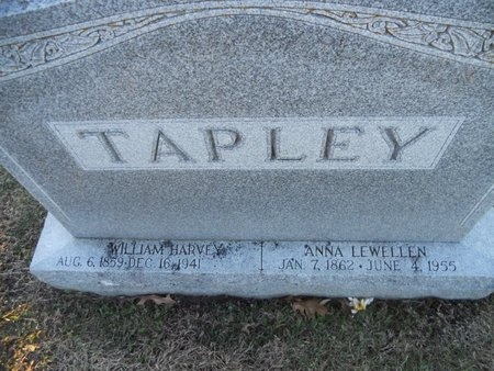 TAPLEY, ANNA - Pike County, Missouri | ANNA TAPLEY - Missouri Gravestone Photos